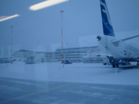 Helsinki Airport - © Crossing the Baltic