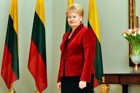 Lithuanian President Dalia Grybauskaitė - image via wikimedia commons